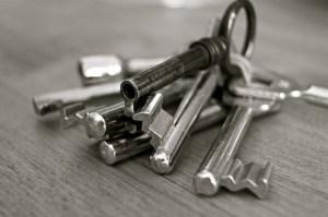 Trousseau de clefs