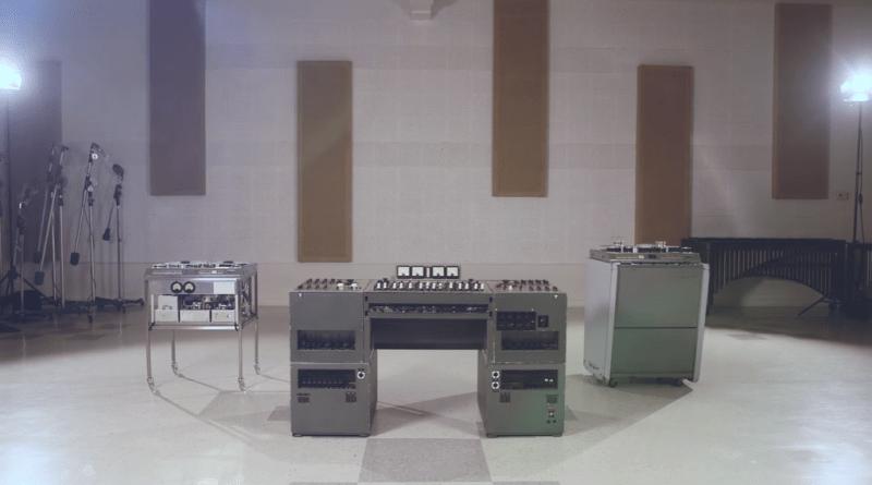 La console utilisée par les légendaires Beatles