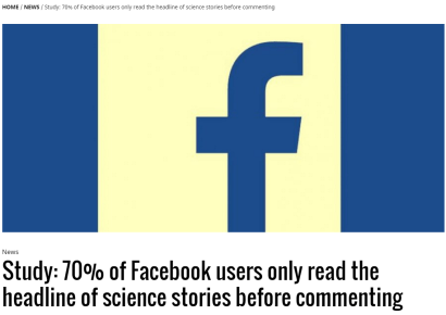 Facebook rendra-t-il bientôt obligatoires les cours d'éducation aux médias?