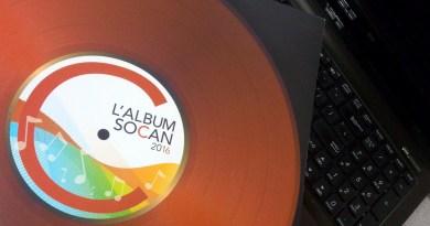 L'Album SOCAN 2016