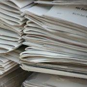 Pile de feuilles de papier
