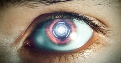 L'œil d'un robot