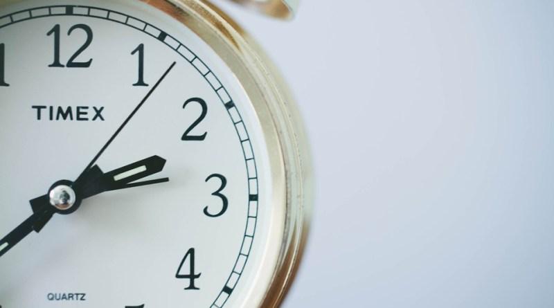 Cadran qui affiche l'heure