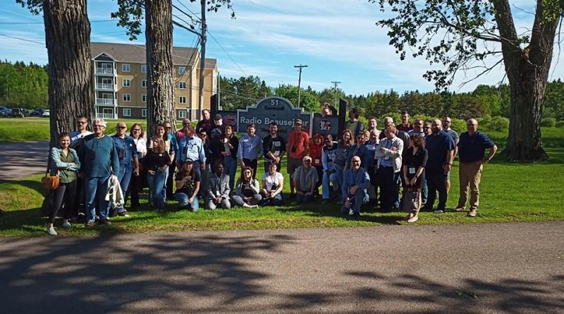 Les délégués de l'ARC du Canada À Shédiac, N.-B.