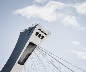 La tour du stade olympique de Montréal