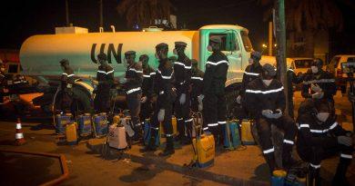 Décontamination des places publiques à Bamako