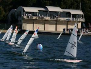 RC Lasers racing in the inaugural National Championships in 2009