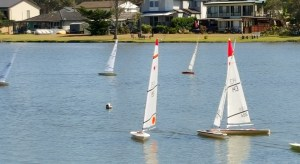 Rc Laser sailing Central Coast 1