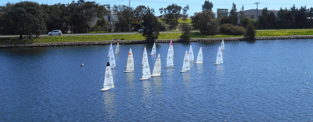 South Australian RC Laser Championships Sees Record Fleet
