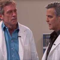 Dr House and Dr Ross ( G Clooney)
