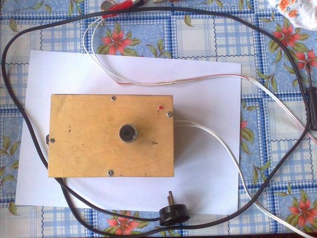 Hjemmelavet strømforsyning ved 12 V
