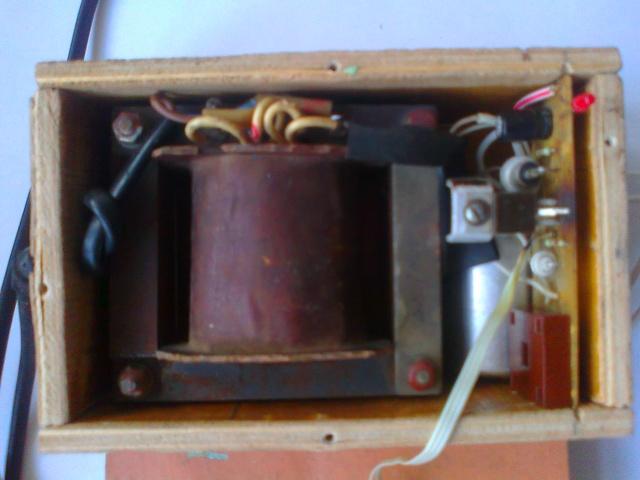 Hjemmelavet strømforsyning 0 12 V