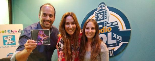 Rosario Mohedano visita Radio SOL