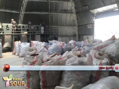 وفد من الحراك الشعبي في زيارة لمعمل فرز النفايات في بلدة بكفيا