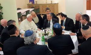Bergoglio a pranzo con il B'nai B'rith argentino