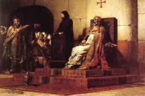 Jean_Paul_Laurens_Le_Pape_Formose_et_Etienne_VII_1870