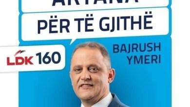 Photo of Bajrush Ymeri: Të na përkrahni që pozita e Kryetarit ti takoj shqiptarëve në Artanë