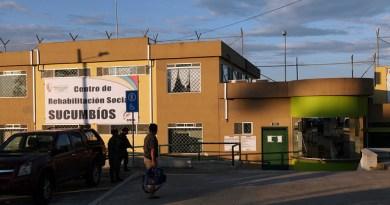 Archivo de las instalaciones del Centro de Rehabilitación de Sucumbíos, en donde se encontraban las personas privadas de libertad que salieron por indulto presidencial