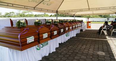 Alrededor de 13 cadáveres permanecen en el Centro Forense de Sucumbíos en la ciudad de Nueva Loja, no han sido reconocido por ningún familiar ni amigos.