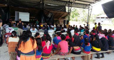 Habitantes de la comunidad Ai Cofan de Sinangoe (Sucumbíos) proponen la construcción de su propio reglamento para el cuidado de su territorio ancestral