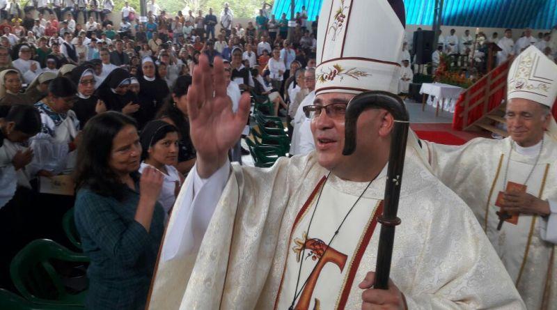 Monseñor José Adalberto Jiménez Mendoza, asumió el viernes 6 de Octubre como nuevo vicario apostólico del Vicariato Apostólico de Aguarico de Orellana
