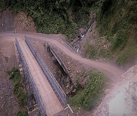 Alcalde del cantón de Sucumbíos le recordó a Paul Granda ministro de MTOP el compromiso de asfaltar 90 km de vía desde el Palmar hasta el recinto Santa Rosa