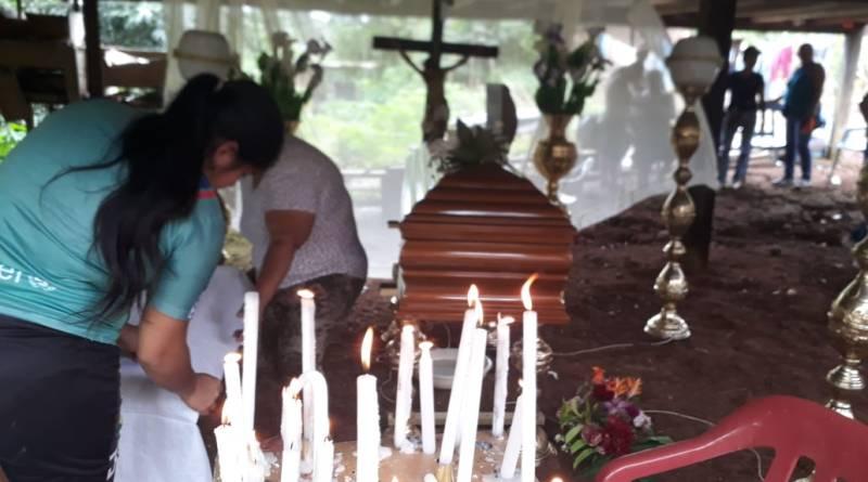 Repudio e indignación causo en la población de Palanda Uno, parroquia Taracoa cantón Francisco de Orellana, por el asesinato de una adolescente