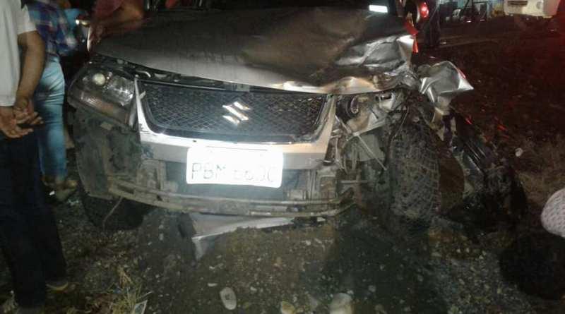 Prefecto de Sucumbíos confirma que su Viceprefecta Abg. María Jaramillo sufrió un accidente.