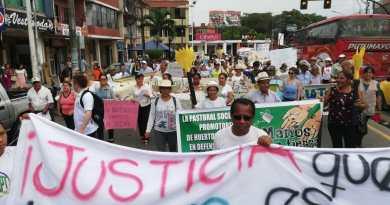 Marcha por el apagado de los mecheros en Sucumbíos y Orellana