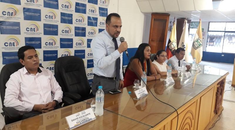 Juan Gallegos presidente de la JPES explicó el procedimiento tras la objeción de Orlando Grefa