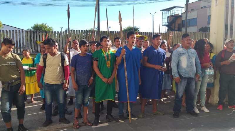 Sionas de Cuyabeno sacaron a los colones