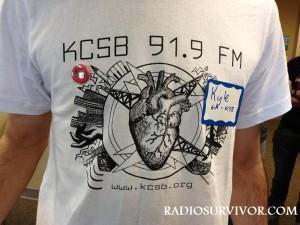KCSB T-shirt