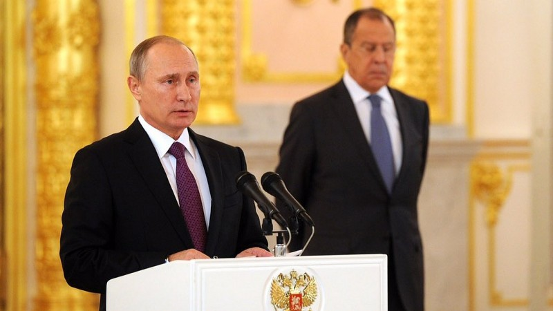 Władimir Putin. Fot. Vladimir Putin Twitter