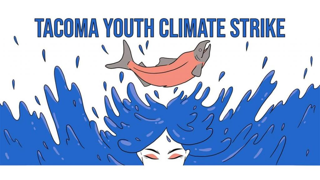 December 6th Tacoma Youth Climate Strike