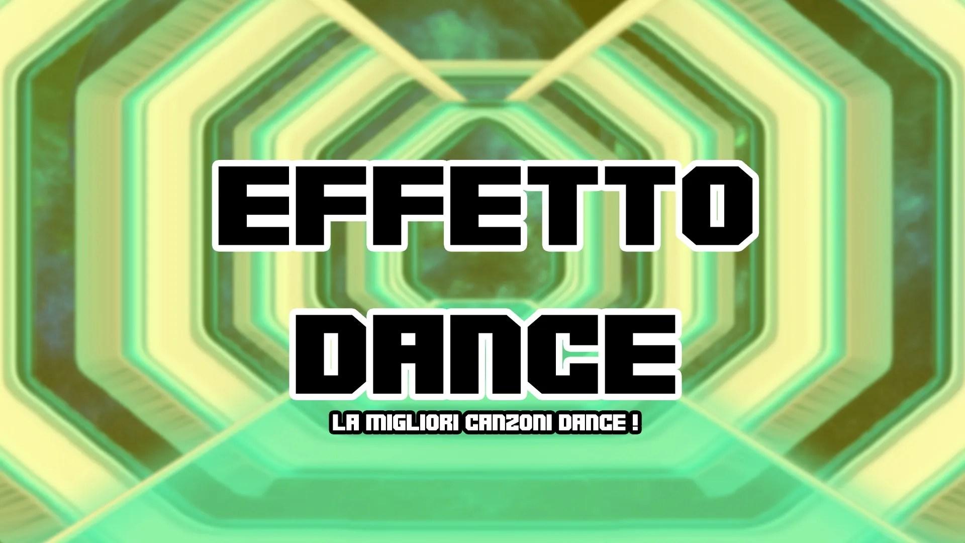 Copertina effetto dance