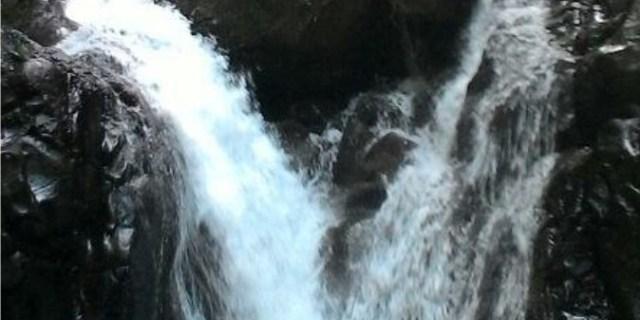 Menakar Tinggi Air Terjun Goa Kambing Solok Selatan