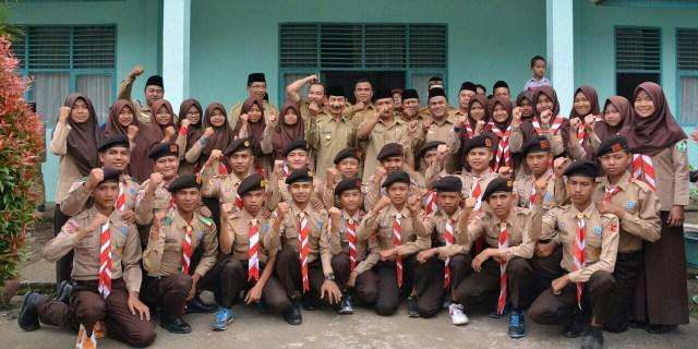 Bupati Lepas Kontingen Pramuka Madrasah Solok Selatan Ikuti Lomba Tingkat Provinsi