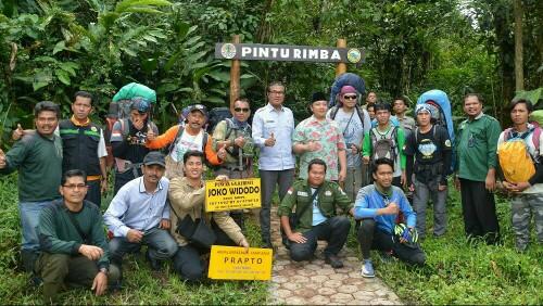 Empat Warga Jabodetabek, Resmi Sebagai Pendaki Pertama Kerinci Via Solsel
