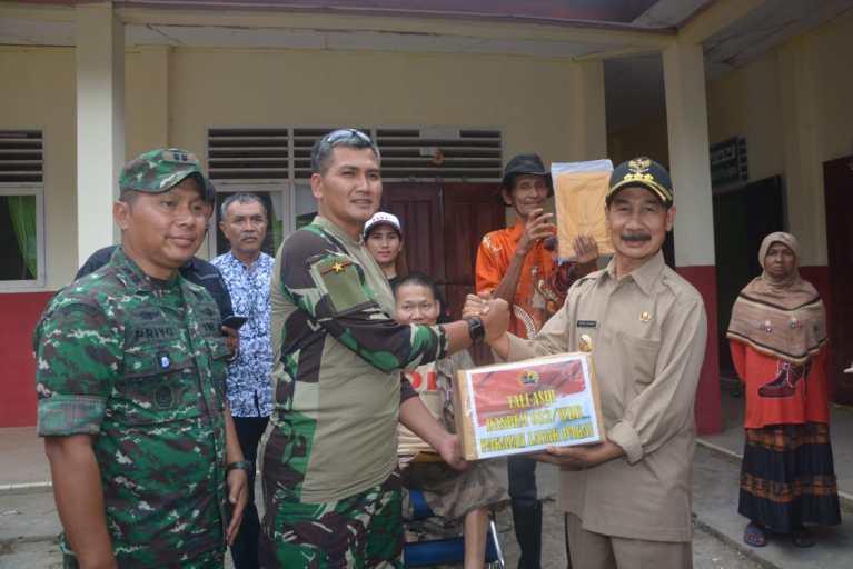 Danrem 032 Wirabraja Serukan Reboisasi di Solok Selatan