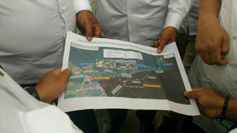 Rencana Pengalihan Muara Sungai Batang Suliti