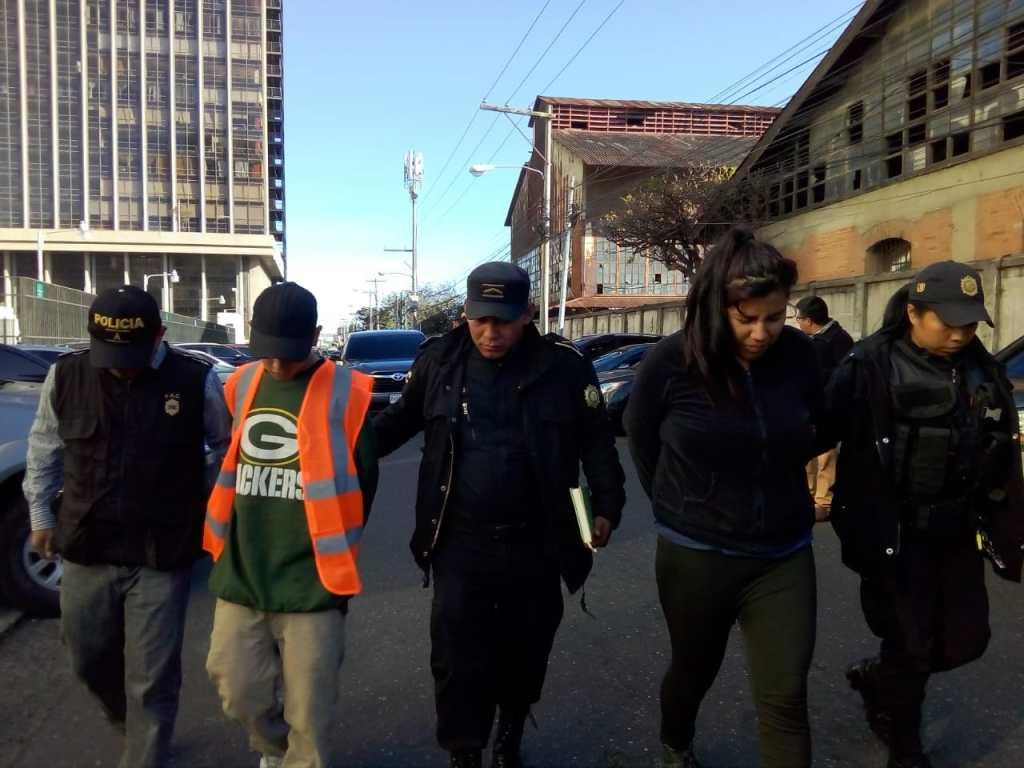Capturados por intento de ataque contra bus ruta 32