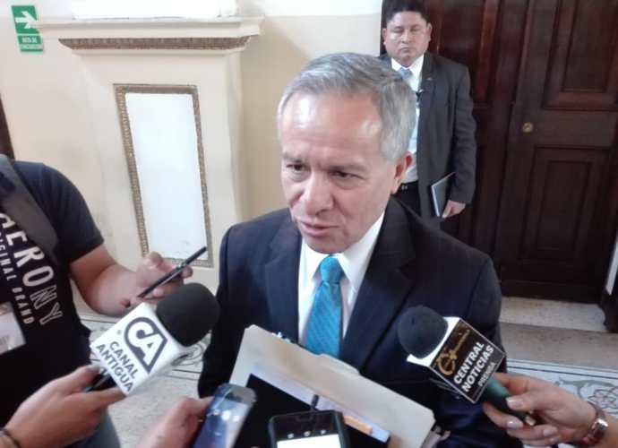 Fernando Fernandez, contralor general de cuentas en funciones