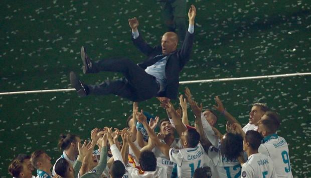 Zidane nuevo técnico del Real Madrid