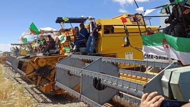 """صورة الانطلاقة الرسمية لحملة الحصاد والدرس بالمزرعة النموذجية """"شاوشاوة"""""""