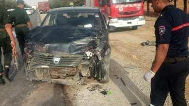 صورة حادث مرور – بلدية مهدية –