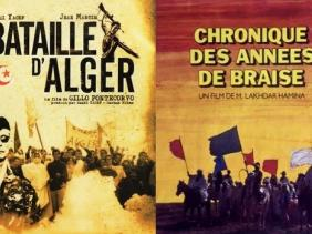 """صورة """"معركة الجزائر"""" و""""وقائع سنين الجمر"""" ضمن أفضل 20 فيلما في تاريخ السينما الإفريقية"""
