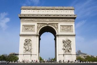 Arcul de Triumf Etoile Ziua de Constanţa