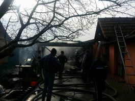 incendiu isu pompieri garaj sm 3