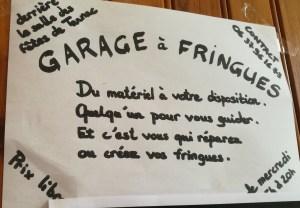 garage a fringues tarnac