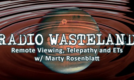Remote Viewing, Telepathy and ETs w/ Marty Rosenblatt